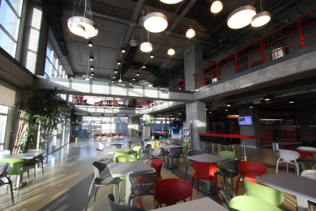 Kemerburgaz University Canteen and Public Spaces